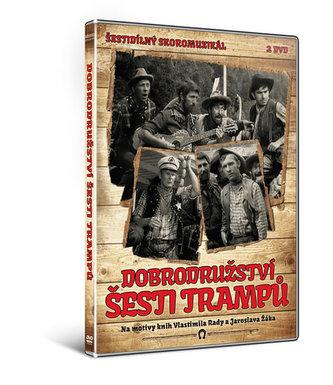 Dobrodružství šesti trampů - 2DVD - neuveden