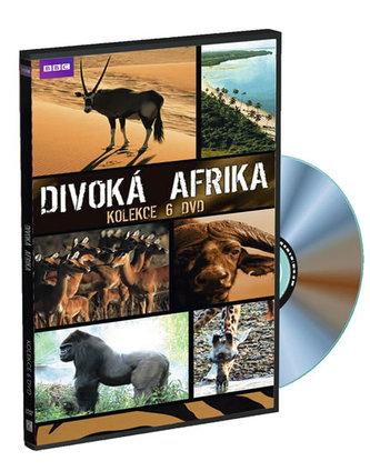 Divoká Afrika - kolekce 6DVD