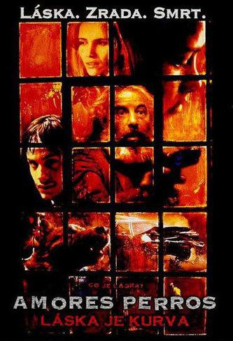 Amores Perros (Láska je kurva) - DVD