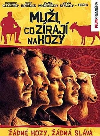 Muži, co zírají na kozy - DVD