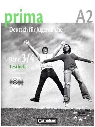 Testheft mit Modelltest 'Fit in Deutsch 2', m. Audio-CDs