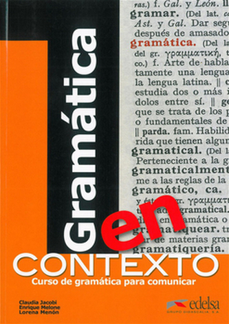 Gramática en contexto Učebnice