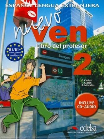 Ven nuevo 2 Příručka učitele + CD