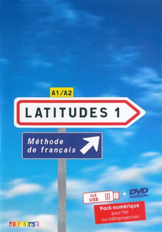 Komplet 4ks Latitudes 1 učebnice + pracovní sešit + příručka učitele + DVD
