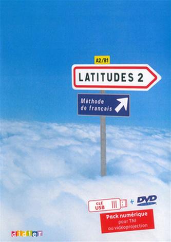 Komplet 4ks Latitudes 2 učebnice + pracovní sešit + příručka učitele + DVD
