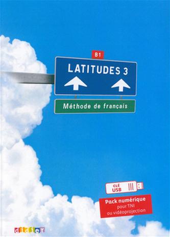 Komplet 4ks Latitudes 3 učebnice + pracovní sešit + příručka učitele + DVD