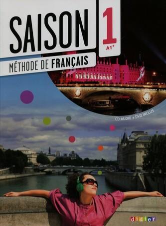 Saison 1 Podręcznik + CD + DVD A1+ - Cocton Marie-Noelle, Heu Elodie, Houssa Catherine