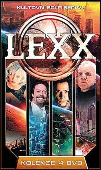 Lexx - kolekce 4DVD
