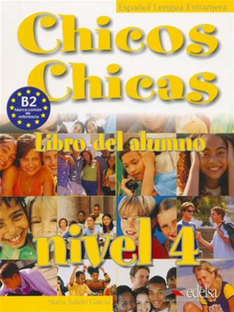 Chicos Chicas 4 Učebnice