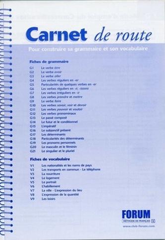 Forum 1 Carnet de route