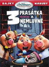 3 prasátka a nemluvně - DVD