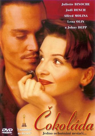 Čokoláda - DVD
