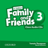 Family and Friends Level 3 Class Audio CDs