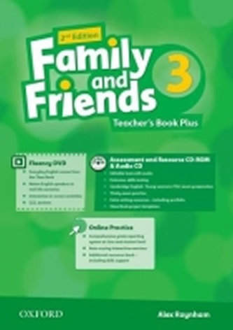 Family and Friends 2nd Edition 3 Teacher´s Book Plus - Penn Julie