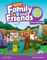 Family and Friends 2nd Edition 5 Course Book with MultiROM Pack