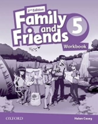 Family and Friends 2nd Edition 5 Workbook