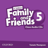 Family and Friends 2nd Edition 5 Class Audio 2 CDs