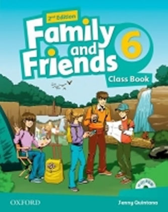 Family and Friends 2nd Edition 6 Course Book with MultiROM Pack - Quintana Jenny