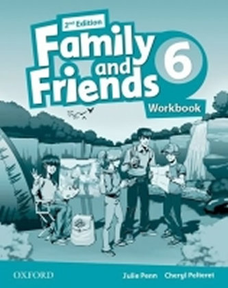 Family and Friends 2nd Edition 6 Workbook - Penn Julie