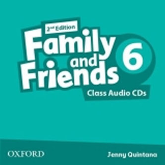 Family and Friends 2nd Edition 6 Class Audio 2 CDs - Quintana Jenny