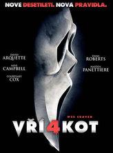 Vřískot 4 - DVD