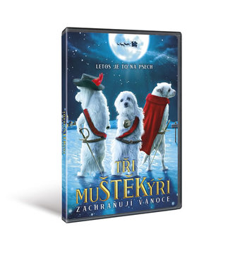 Tři muŠTĚKýři zachraňují Vánoce - DVD - neuveden