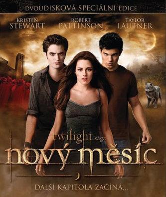 Twilight sága: Nový měsíc S.E. /2Bluray - neuveden
