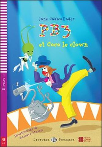 PB3 et Coco le Clown (A1) - Cadwallader Jane