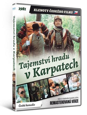 Tajemství hradu v Karpatech - DVD