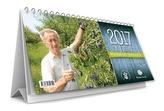 Rok v záhrade 2017- stolový kalendár