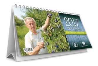 Rok v záhrade 2017 - stolový kalendár - Ivan Hričovský
