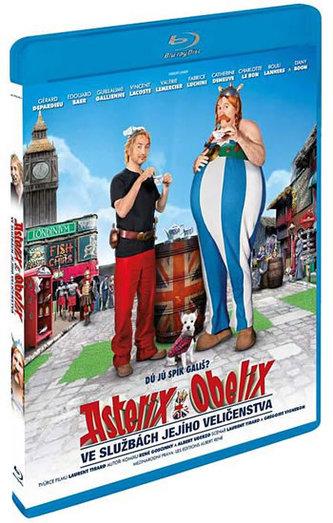 Asterix a Obelix ve službách Jejího Veličenstva - 3D/Bluray