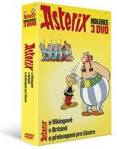 Asterix - kolekce 3DVD/Asterix a Vikingové, Asterix a překvapení pro Cézara, Asterix v Británii