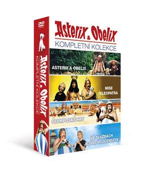Asterix a Obelix - kolekce 4DVD/Asterix a Obelix, Asterix a Obelix: Mise Kleopatra, Asterix a Olypijské hry, Asterix a Obelix ve službách Jejího Veličenstva