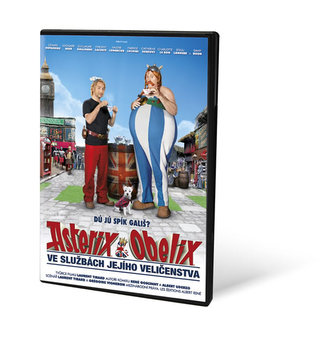 Asterix a Obelix ve službách Jejího Veličenstva - DVD - neuveden