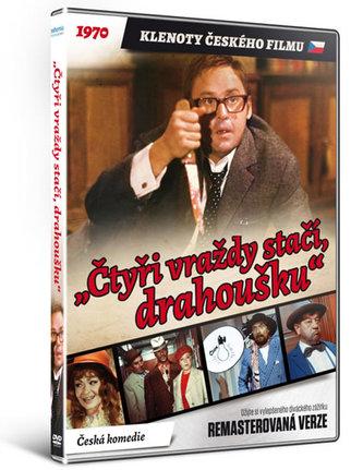 Čtyři vraždy stačí, drahoušku - DVD