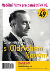 Nedělní filmy pro pamětníky 10. - Oldřich Nový - 2 DVD pošetka