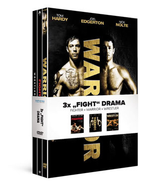 3x Fight drama (3DVD): Fighter, Warrior, Wrestler