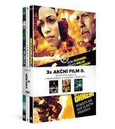 3x Akční film II. (3DVD): Nezahrávej si s ohněm + Temný stín nad L.A. + Timecop 2