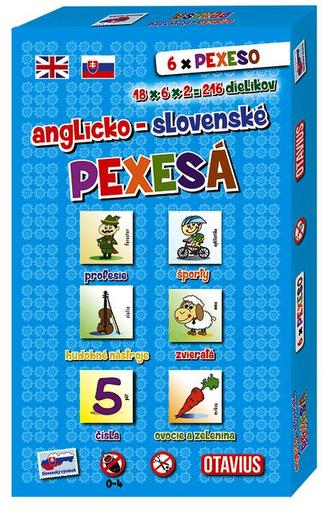 Pexesá Anglicko - slovenské