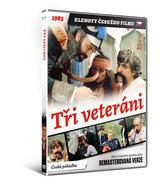 Tři veteráni - DVD