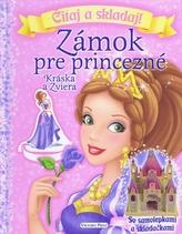 Zámok pre princezné - Kráska a zviera - Čítaj a skladaj