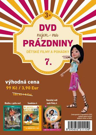 DVD nejen na Prázdniny 7. - Dětské filmy a pohádky - 3 DVD