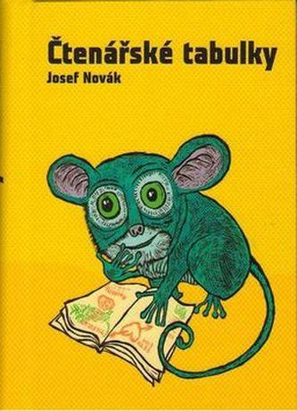 Čtenářské tabulky - Josef Novák