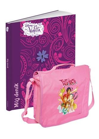 Violetta - Můj deník + taška - Walt Disney