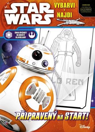 Star Wars – vybarvi a najdi