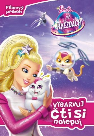 Barbie ve hvězdách Vybarvuj, čti si, nalepuj