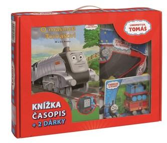 Tomáš a jeho přátelé - kniha, časopis + 2 dárky