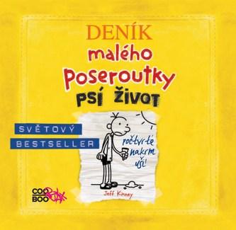 Deník malého poseroutky 4 - audio CD - Jeff Kinney, Václav Kopta