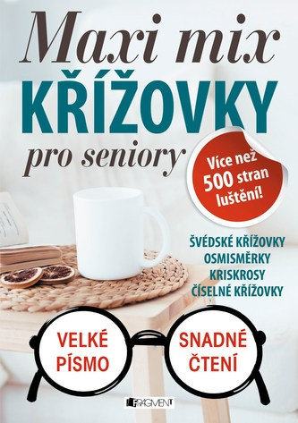 Maxi mix - Křížovky pro seniory - ŽKV